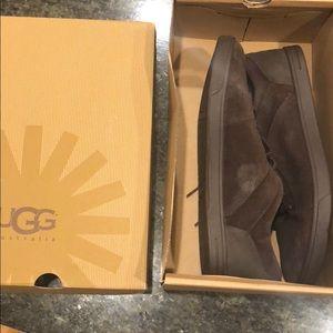 Men's Bueller Suede Dark Brown Sneakers